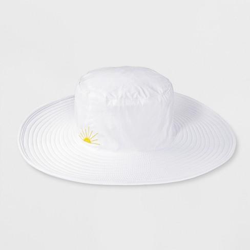 b43766328b9e3 Girls  SPF Floppy Hat - Cat   Jack™ Pink One Size   Target