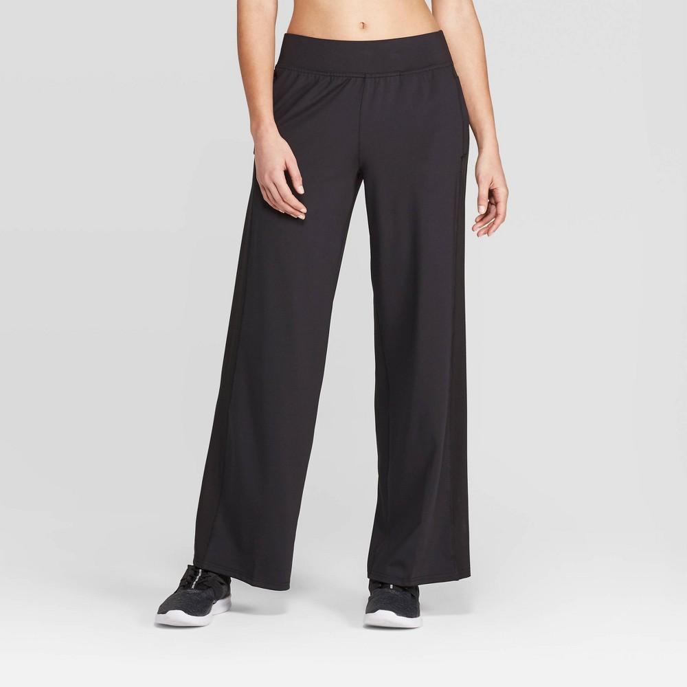 Women's Training Mid-Rise Woven Pants - C9 Champion Black Xxl - Long, Size: Xxl Long