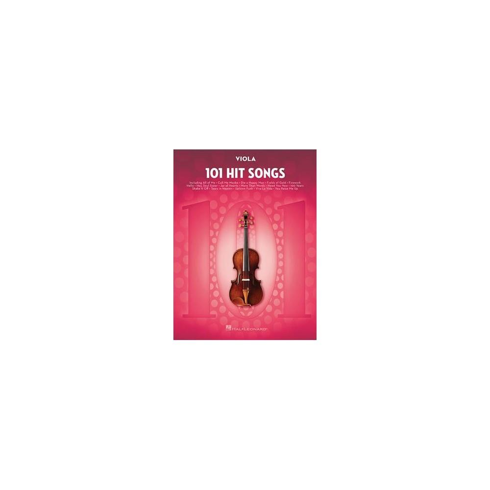 101 Hit Songs : Viola (Paperback)