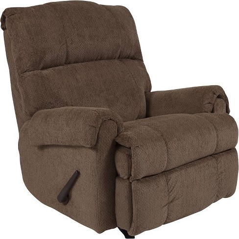 Contemporary Rocker Recliner with Rolled Arms - Riverstone Furniture Collection  - image 1 of 4