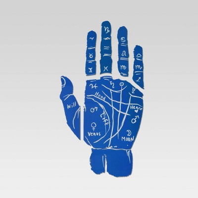 Hand Removable Wall Decal Blue - Room Essentials™