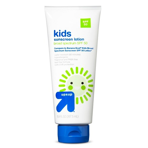 Kids Sunscreen Lotion - SPF 50 - 10.4.oz - Up&Up™ - image 1 of 1