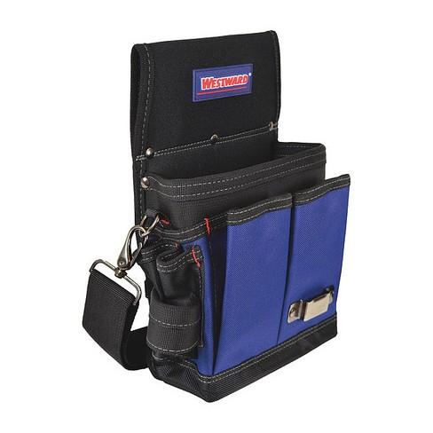 Black Padded Tool Bag Shoulder Strap WESTWARD 5MZL5  Adjustable