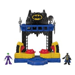 Fisher-Price Imaginext DC Super Friends Batman Battle Batcave Playset