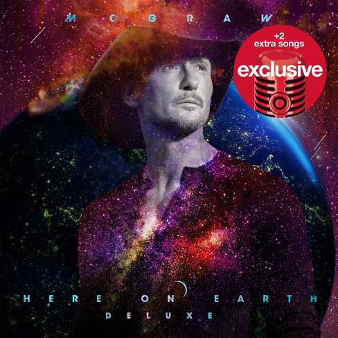 Tim McGraw - Here On Earth (Target Exclusive, CD) - image 1 of 1