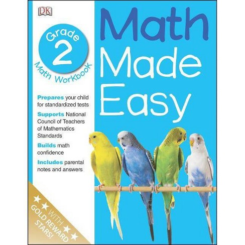Math Made Easy: Second Grade - (Paperback) - image 1 of 1