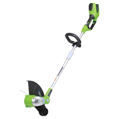 GreenWorks 13  40V G-MAX Cordless String Trimmer Green