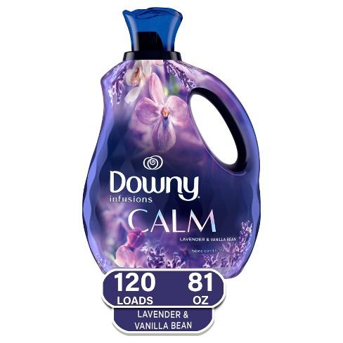 Downy Infusions Lavender & Vanilla Bean Calm Liquid Fabric Softener - 81oz - image 1 of 4