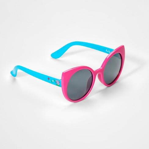 Toddler Girls Peppa Pig Sunglasses Pink Blue