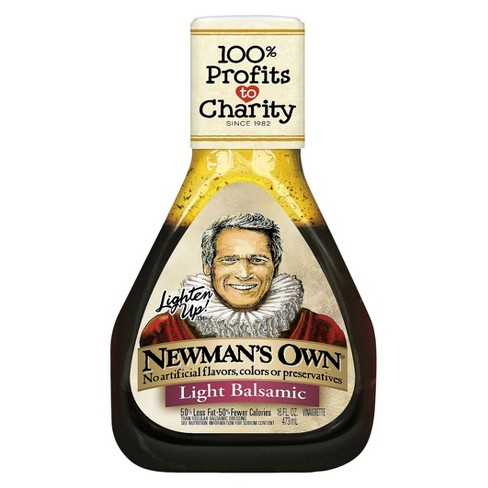Newman's Own® Lighten Up!™ Light Balsamic Dressing - 16 fl oz - image 1 of 1
