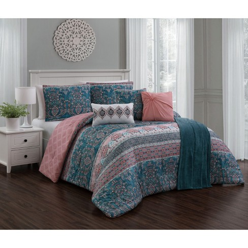 7pc Belladonna Comforter Set - Geneva Home Fashion - image 1 of 2