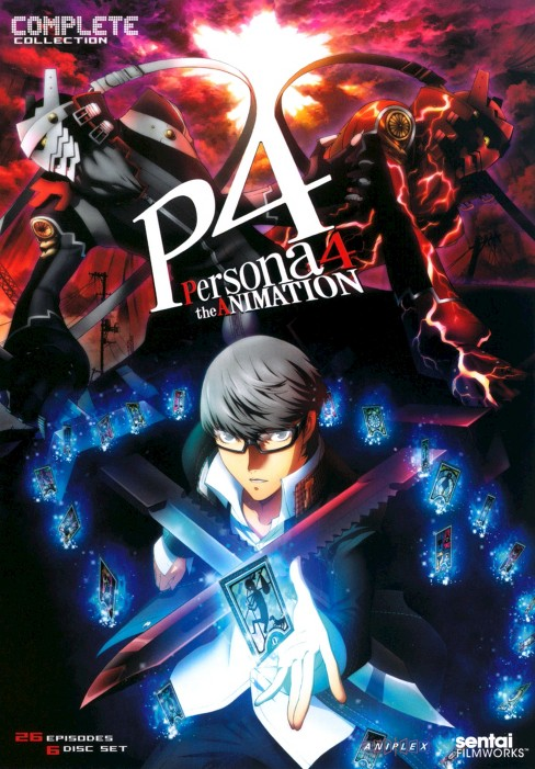 Persona 4:Animation complete collecti (DVD) - image 1 of 1