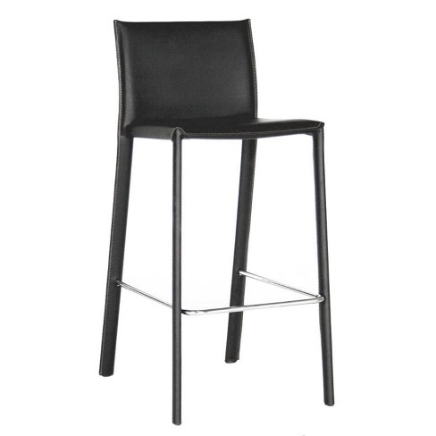 Set of 2 Crawford Leather Counter Height Stools - Baxton Studio - image 1 of 3