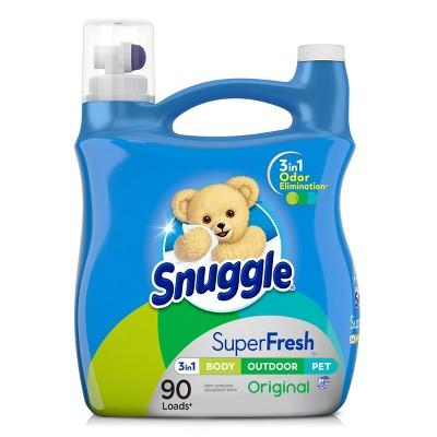 Snuggle PLUS SuperFresh Liquid Fabric Softener - 95 fl oz