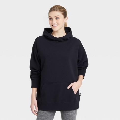 Women's Oversized Hooded Sweatshirt - JoyLab™ - image 1 of 2