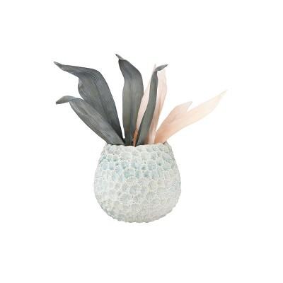 Textured Ceramic Planter Light Blue - 3R Studios