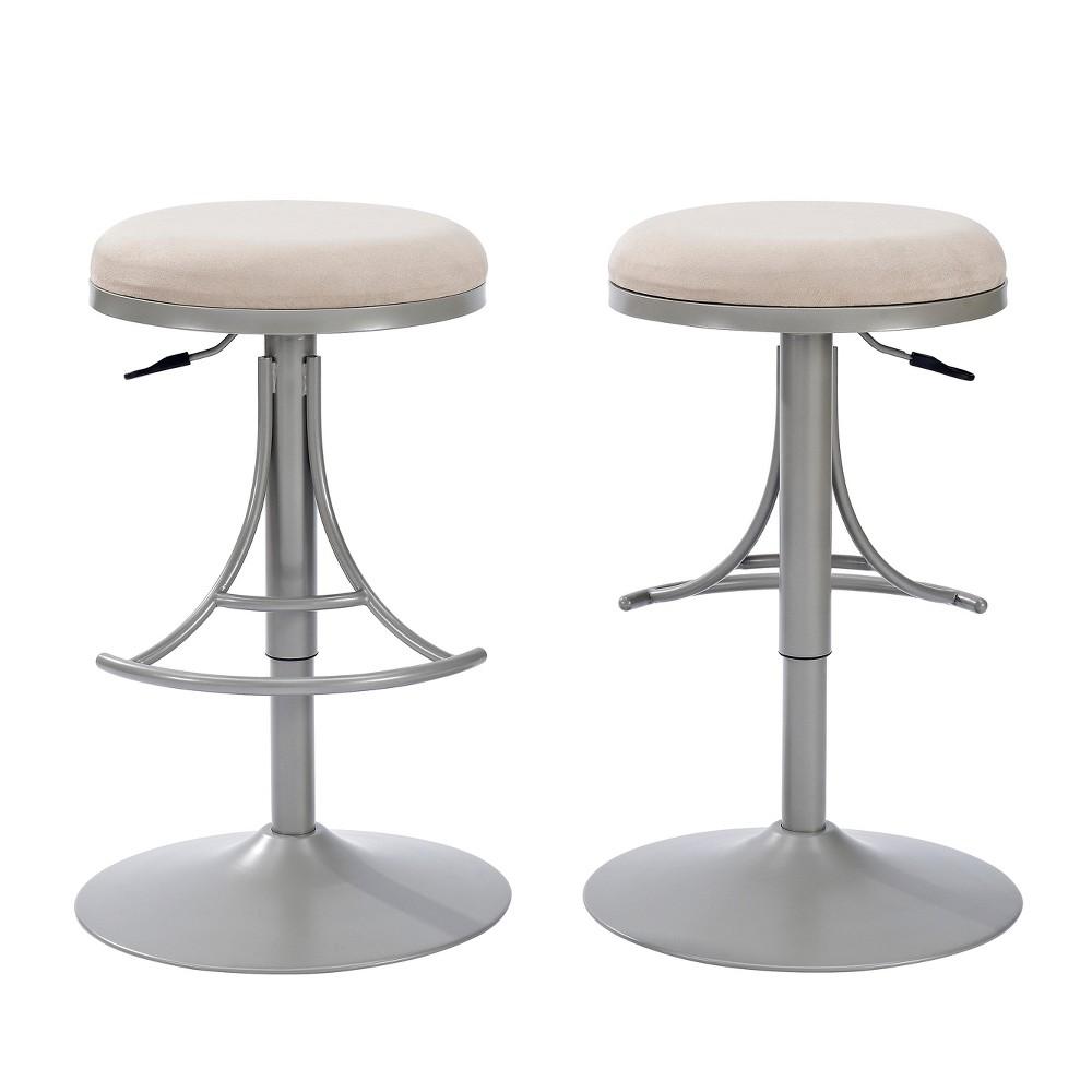 Groovy Jasper Backless Swivel Counter Stool Metal Grey Crosley Bralicious Painted Fabric Chair Ideas Braliciousco