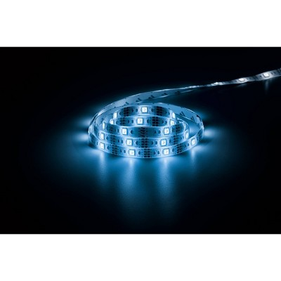 6' MOTIONGLO Motion Activated LED Strip Light Blue - Merkury Innovations