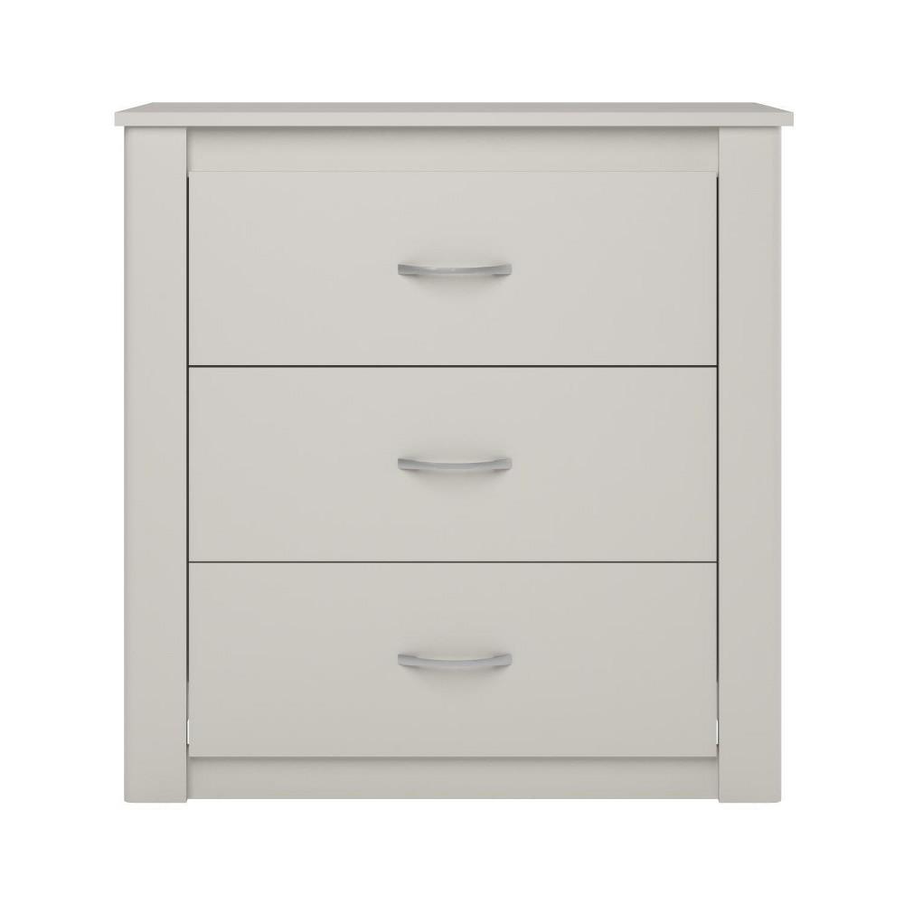 Pearl 3 Drawer Dresser - White - Room & Joy