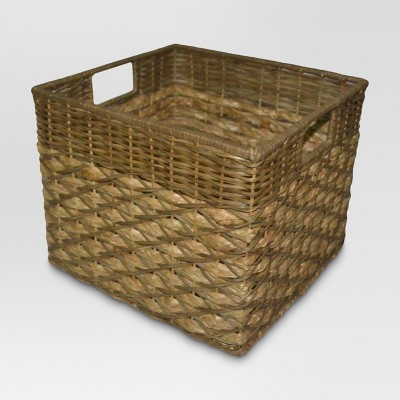 Seagrass Large Milk Crate - Two-toned - Threshold™