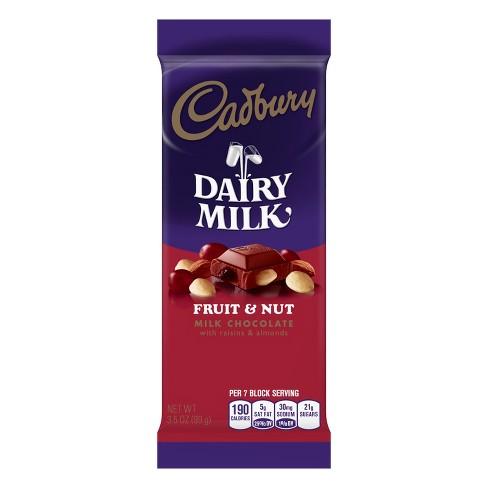 Cadbury Dairy Milk Fruit & Nut Chocolate Candy Bar - 3.5oz - image 1 of 3