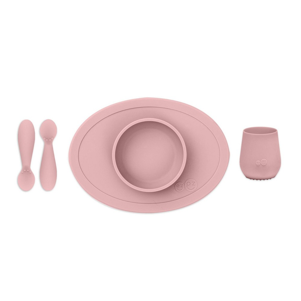Ezpz First Food Set Blush