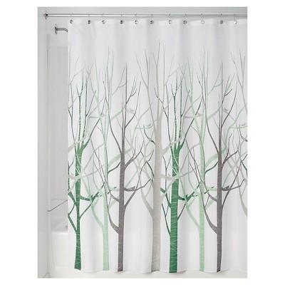 interDesign Forest Shower Curtains - Sage