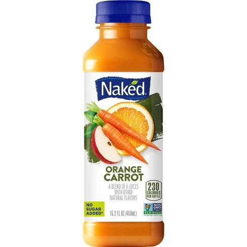 Naked Orange Carrot Vegan Juice Smoothie - 15.2oz - image 1 of 4
