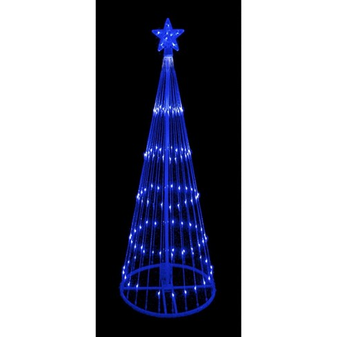 About this item - Northlight 12' Blue LED Lighted Show Cone Christmas : Target