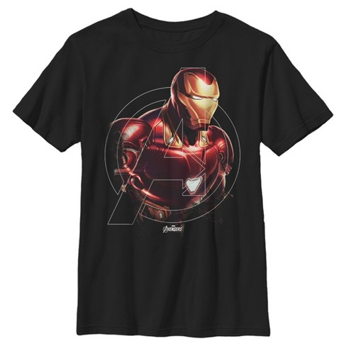 Marvel Boys' Avengers Endgame Iron Man Portrait T-Shirt - image 1 of 1