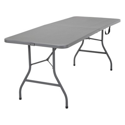 6' Signature Series Foldable Table Gray - Cosco