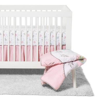 Crib Bedding Set Trend Lab Pink
