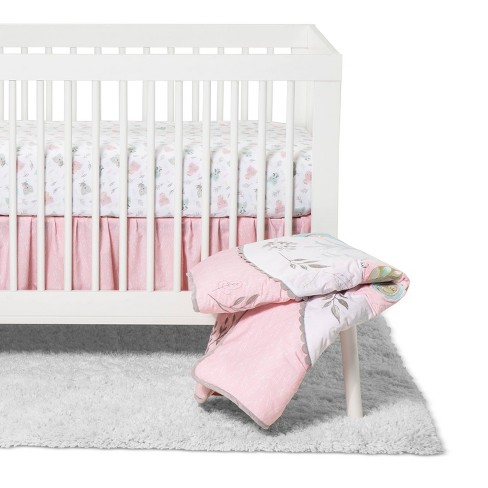 Crib Bedding Set Trend Lab Pink - image 1 of 4