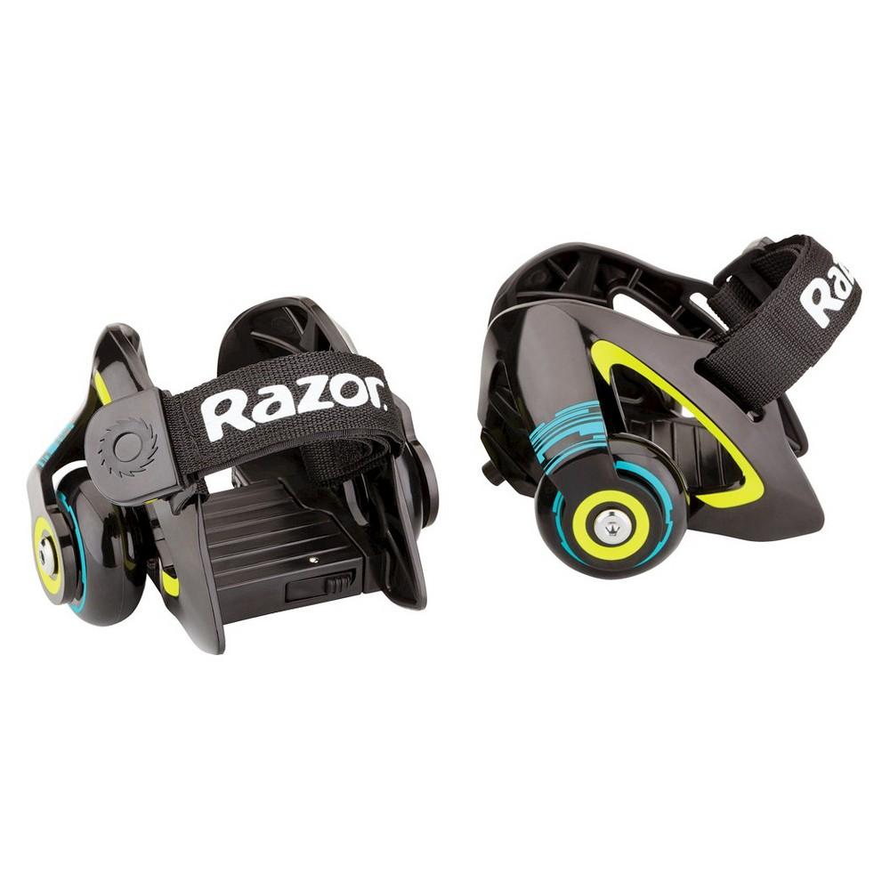 Razor Jetts Heel Wheels Skate - Green, Kids Unisex