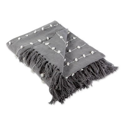 "50""x60"" Woven Loop Throw Blanket - Design Imports"