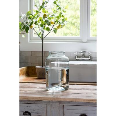 Park Hill Collection Artisan Glass Flower Vase Large