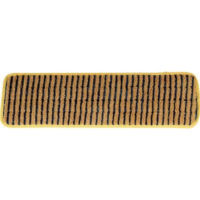 Rubbermaid HYGEN Microfiber Scrubber Mop Pad FGQ81000YL00