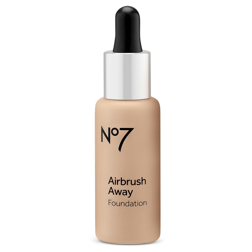 Image of No7 Airbrush Away Foundation Warm Ivory - 1 fl oz