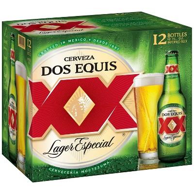 Dos Equis Mexican Lager Beer - 12pk/12 fl oz Bottles