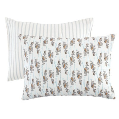 Touched by Nature Unisex Baby and Toddler Organic Cotton Toddler Pillowcase