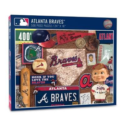 MLB Atlanta Braves 500pcs Throwback Puzzle