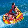 Wow Super Bubba Inflatable 3 Person Deck Seating Towable Water Floating Tube - image 4 of 4