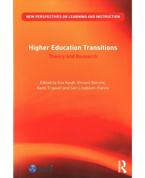 Higher Education Transitions : Theory and Research (Paperback) - image 1 of 1