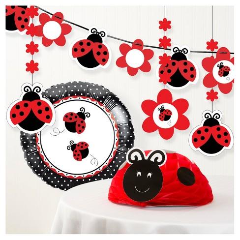 Ladybug Fancy Birthday Party Decorations Kit Target