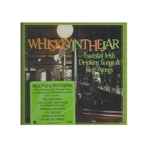 Various Artists - Essential Irish Drinking Songs & Sing Alongs: Whiskey In The Jar (CD) - image 1 of 2