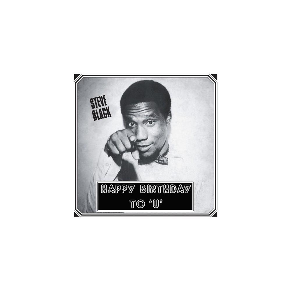 Steve Black - Happy Birthday To U (Vinyl)