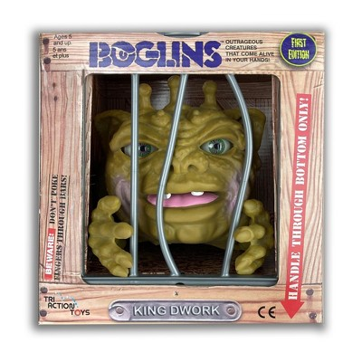 TriAction Toys Boglins 8-Inch Foam Monster Puppet | King Dwork