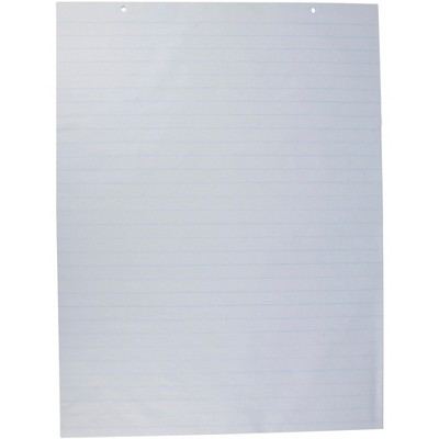 Two-Hole Chart Paper, 16 lb., 24 x 32 Inches, White, pk of 100