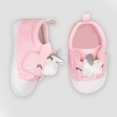 Baby Girls' Unicorn Sneaker 3-6M - Just One You® made by carter's Pink 3-6M