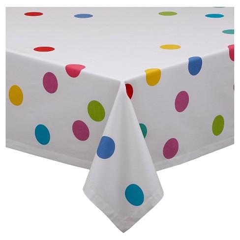 "Confetti Print Tablecloth (52""X52"") - Design Imports - image 1 of 3"